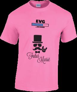 t-shirt EVG personnalisé