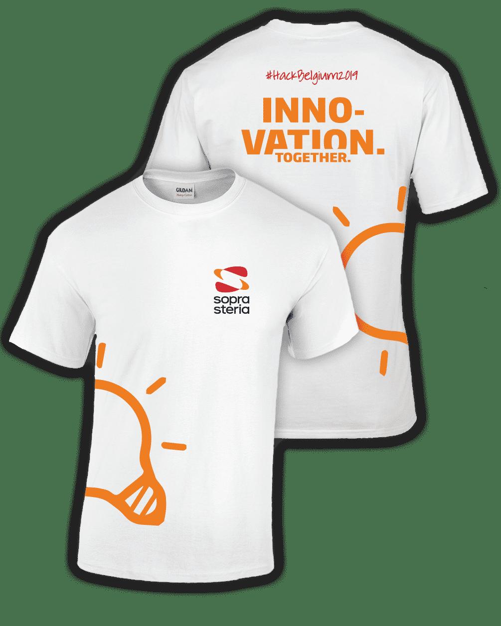 Floc-kings - t-shirt promotionnel pour événement professionnel