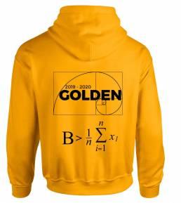 pull rhéto personnalisé golden
